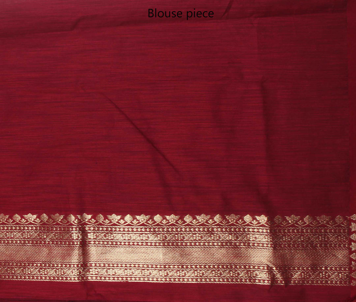 Black Tussar Silk Handwoven Banarasi saree with round shape motifs (4) blouse