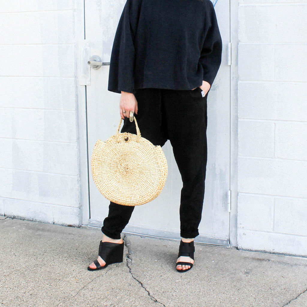 THE MINA SEA GRASS BAG
