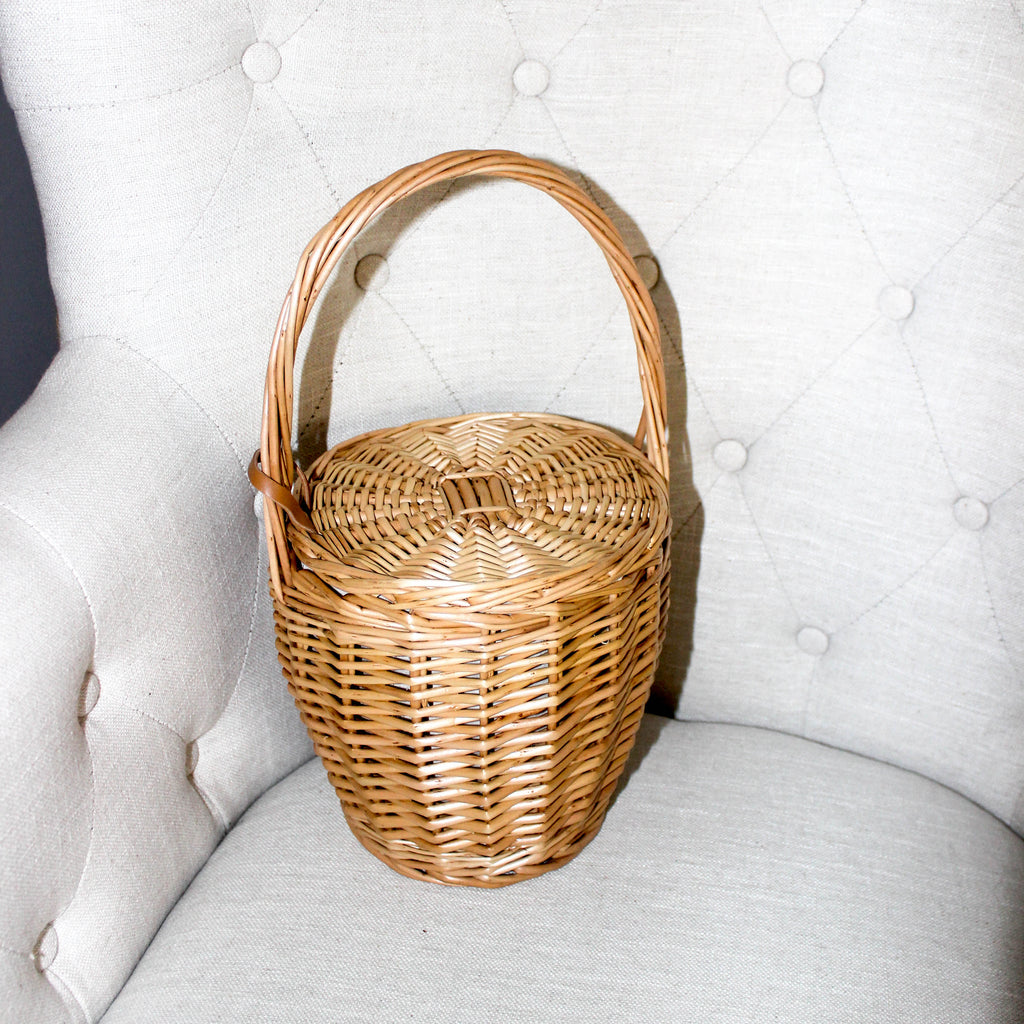 THE BIRKIN WICKER BASKET BAG