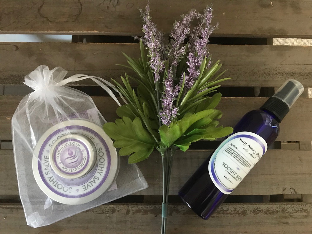 Spring Special - Soothy Salve Set and Bug Away Spray