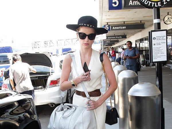 Shop Gladys Tamez Millinery at Bonito Silicon Valley - Amber Heard