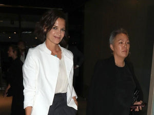 Katie Holmes' Summertime Executive in Isabel Marant