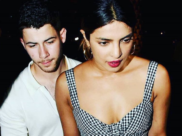 Priyanka Chopra wearing ALC dress