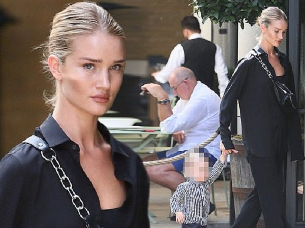 Shop ALC women pants at Bonito Silicon Valley - Rosie Huntington-Whiteley
