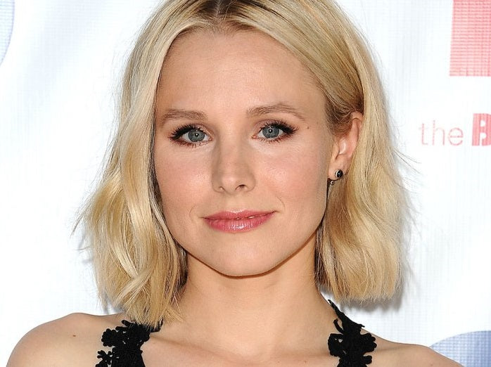 Kristen Bell wearing Ulla Johnson pants