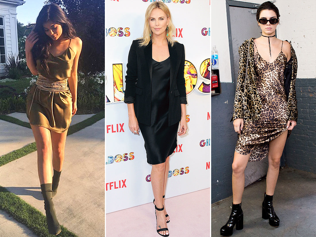 Three ways to wear a Nili Lotan slip dress on celebrities
