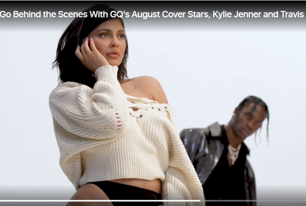 Kylie Jenner wearing Isabel Marant for GQ