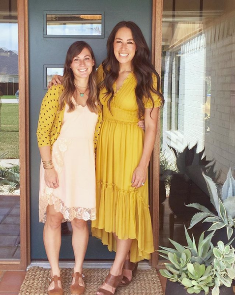 Ulla Johnson wears Ulla Johnson yellow dress