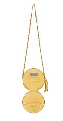 Jerome Dreyfuss Remi Matte Gold Bag
