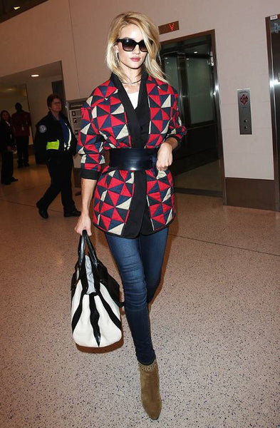 Rosie Huntington-Whiteley in Isabel Marant jacket