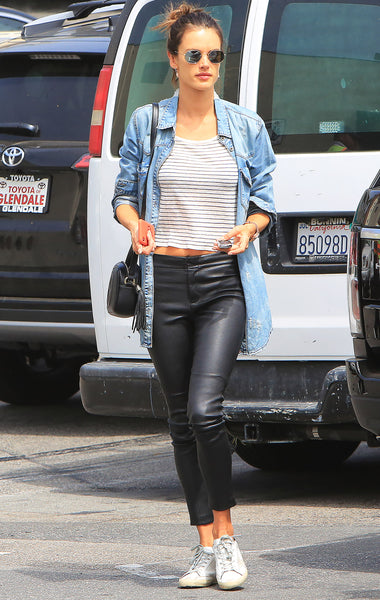Shop Golden Goose Women Sneakers at Bonito Silicon Valley - Alessandra Ambrosio