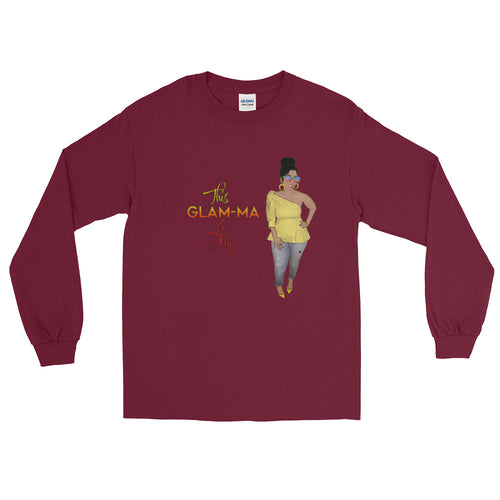 Glam-Ma is Fly Long Sleeve T-Shirt