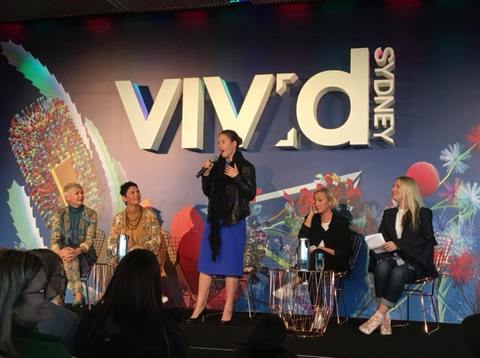 Vivid Sydney event sustainable fashion