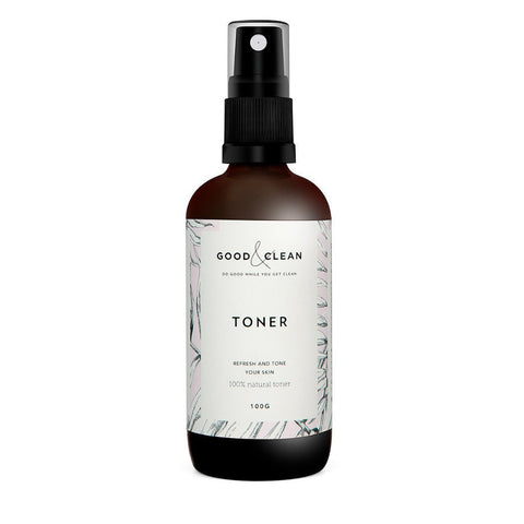 good & clean natural toner Australia ethi