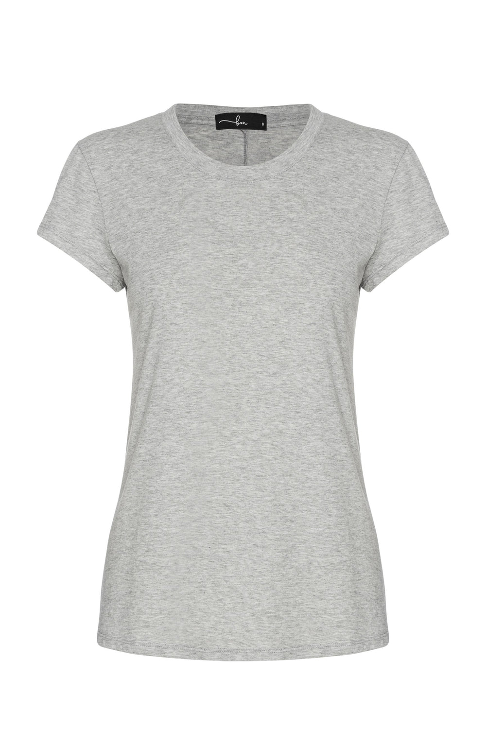 shop ethical sustainable & ethical clothing by bon Everyday Tee - Grey