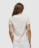 shop ethical sustainable & ethical clothing by Cloth & Co. Classic V Neck Tee | Ecru