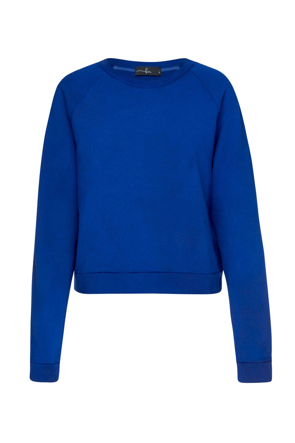 shop ethical sustainable & ethical clothing by bon Cropped Raglan Sweater