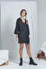 shop ethical sustainable & ethical clothing by ReCreate Clothing Dual Reversible Dress | Black