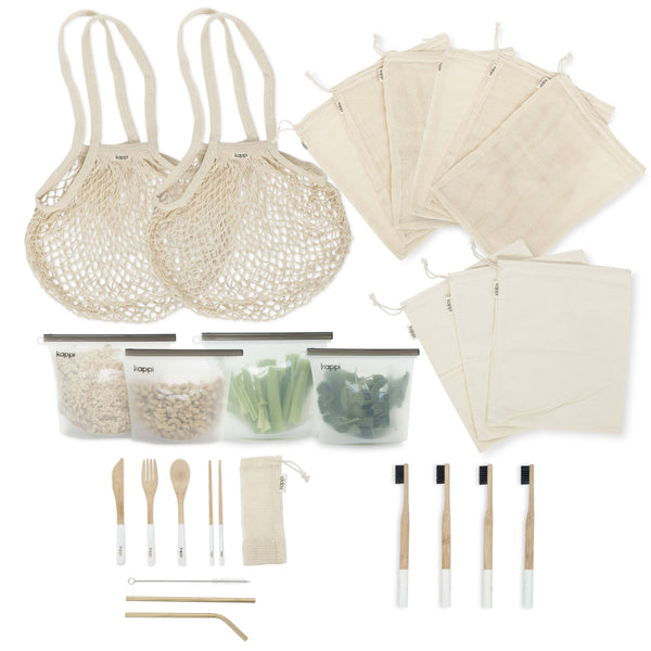 shop ethical sustainable & ethical clothing by Kappi Plastic Free Starter Kit *PREORDER*