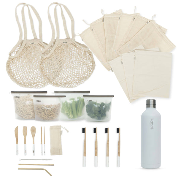 shop ethical sustainable & ethical clothing by Kappi Plastic Free Starter Kit