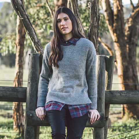 shop ethical sustainable & ethical clothing by Avila the label Fairtrade alpaca sweater