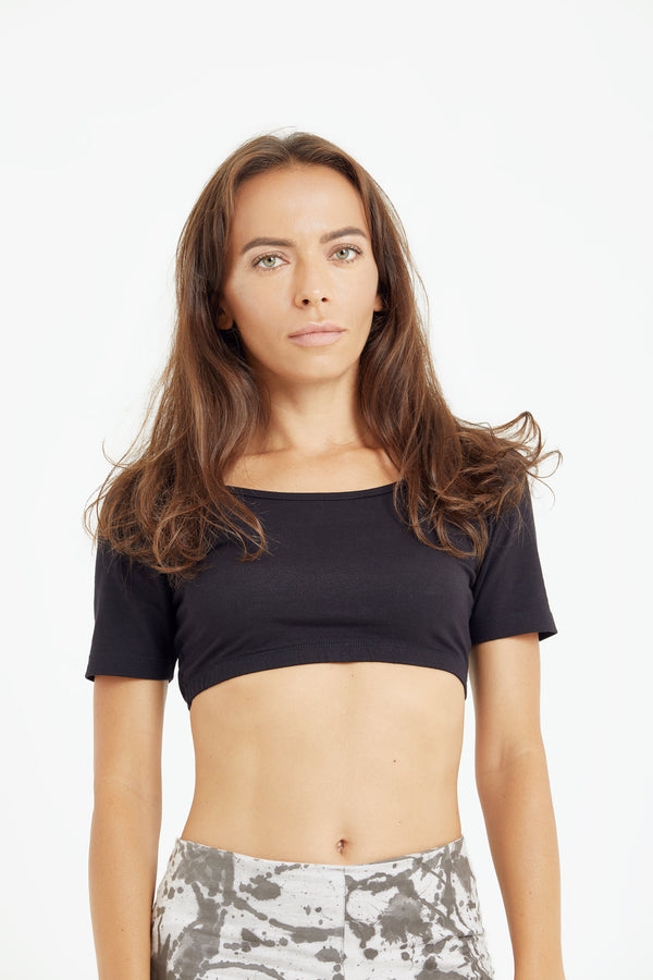 shop ethical sustainable & ethical clothing by Luna & Soul Active Cropped Yoga Top