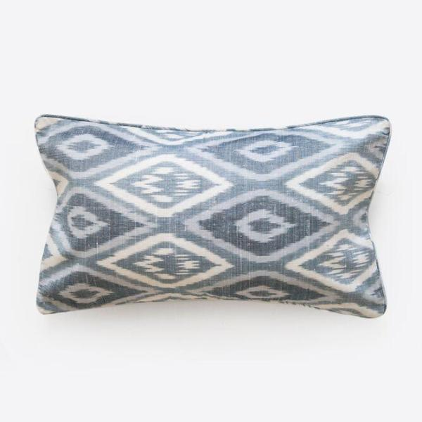 shop ethical sustainable & ethical clothing by Cloth & Co. Uzbek Ikat Cushion