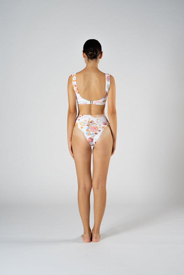 shop ethical sustainable & ethical clothing by CLEONIE CHEEKY FESTA HIGH BRIEF