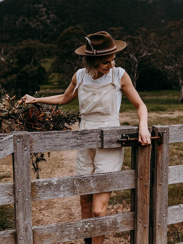 shop ethical sustainable & ethical clothing by Folktribe Clothing Stony Creek Dungaree