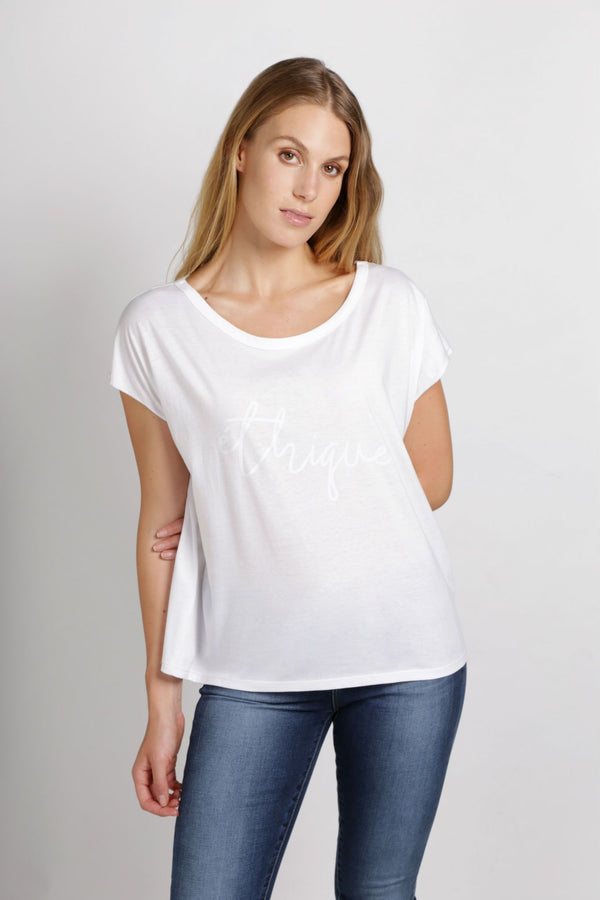 shop ethical sustainable & ethical clothing by Twill and Tee Ethique Flash Tee
