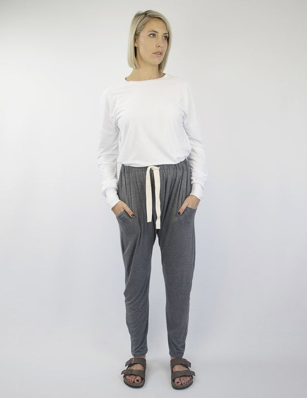 shop ethical sustainable & ethical clothing by INDECISIVE THE LABEL Organic Bamboo Fern Harem Pants