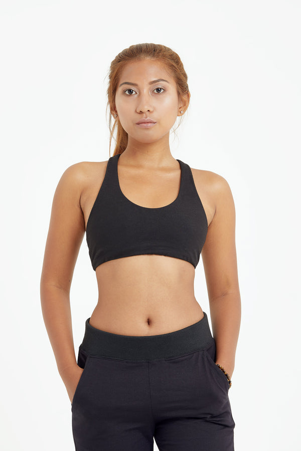 shop ethical sustainable & ethical clothing by LUNA & SOUL ACTIVE Fitness Bra