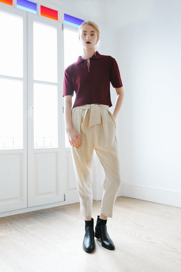 shop ethical sustainable & ethical clothing by OH SEVEN DAYS Fredag Trousers
