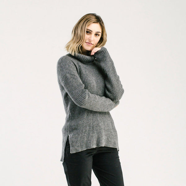 shop ethical sustainable & ethical clothing by Avila the label Ribbed Knit Sweater