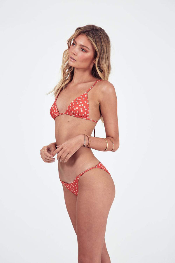 Lovers String Bottoms - Red Daisy