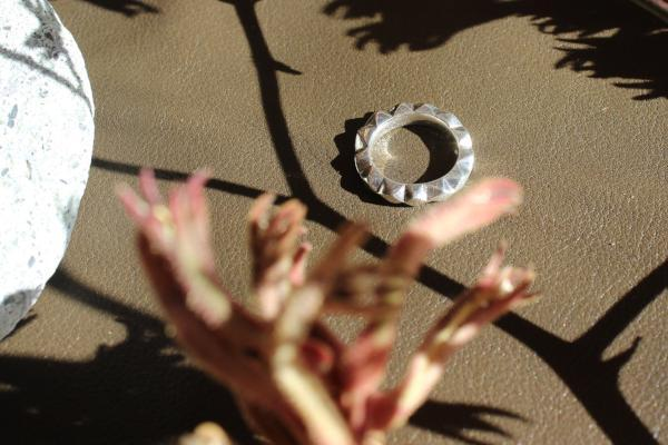 Silver Oscillate Ring