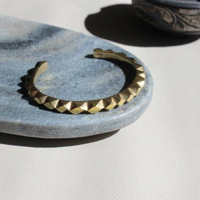 shop ethical sustainable & ethical clothing by EMBR jewellery Gold oscillate cuff