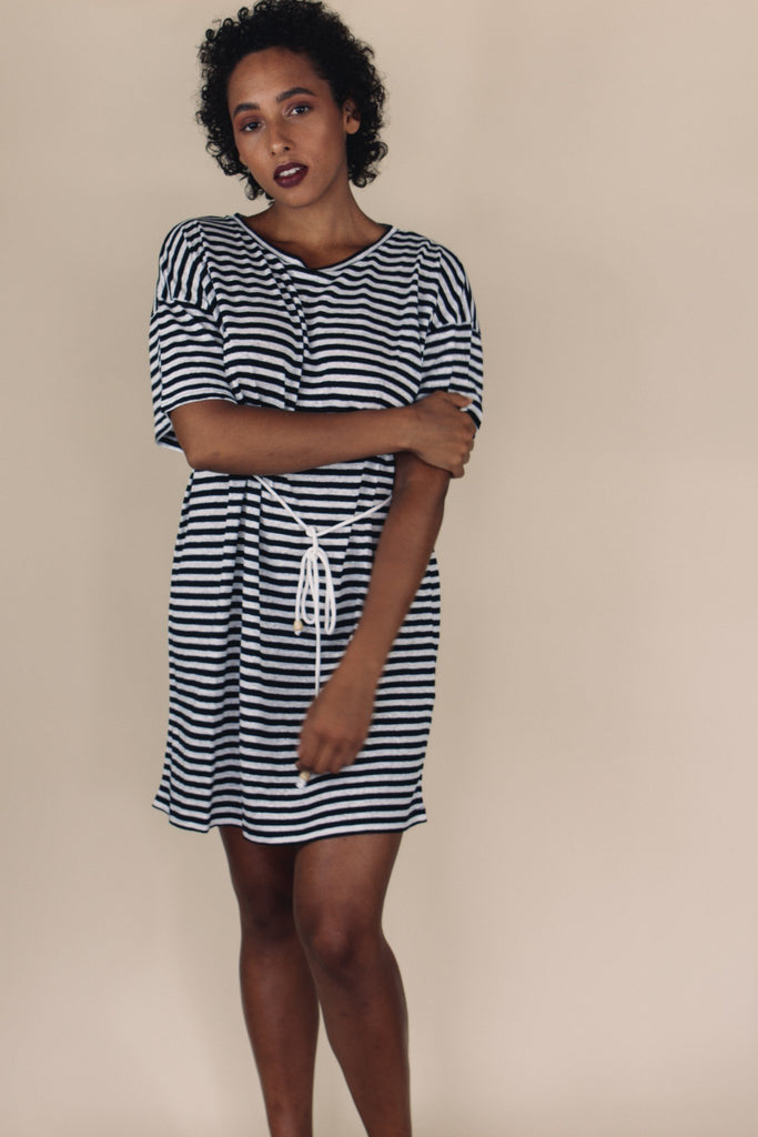 Stevie Stripe Shift Dress