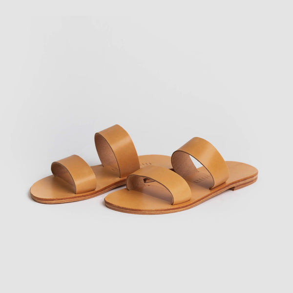 shop ethical sustainable & ethical clothing by Minima Handcrafted Kelly Slide Natural