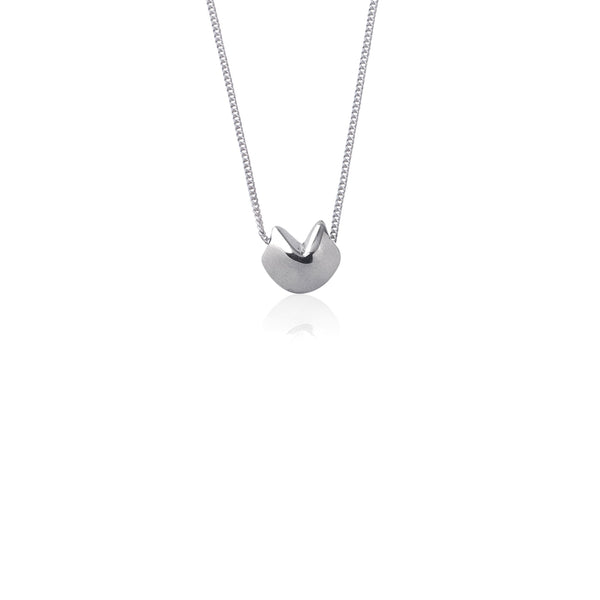 Awestruck in Luck Necklace (Silver)