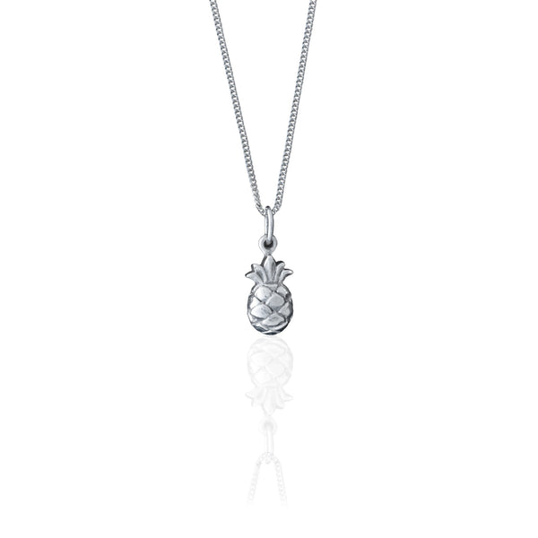 shop ethical sustainable & ethical clothing by La Luna Rose Jewellery You're a Fine-Apple Necklace (Silver)