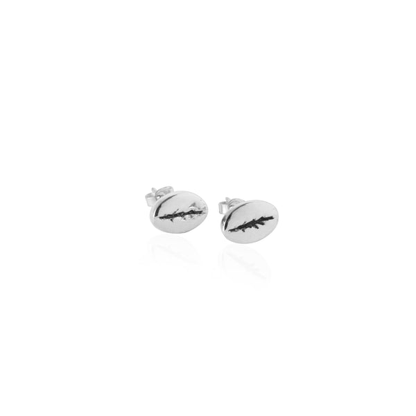 Coconut and Bliss x La Luna Rose Kintamani Studs - SILVER