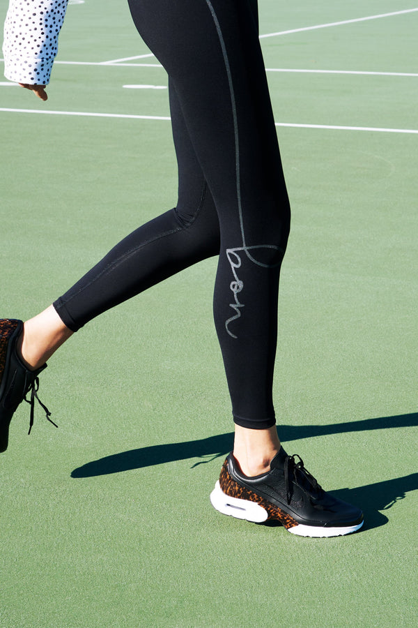 shop ethical sustainable & ethical clothing by bon bon Leggings full length