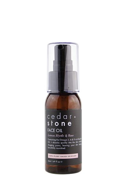 shop ethical sustainable & ethical clothing by CEDAR & STONE Lemon Myrtle + Rose Face Oil