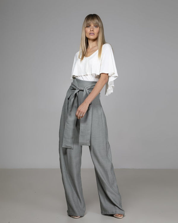shop ethical sustainable & ethical clothing by Indecisive the label Limited Edition Ellie Top White
