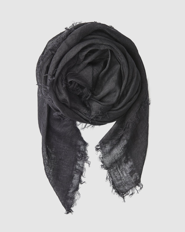 shop ethical sustainable & ethical clothing by Cloth & Co. Linen Scarf | Midnight