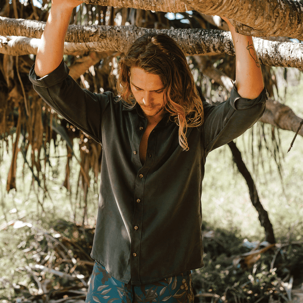 shop ethical sustainable & ethical clothing by Tasi Travels Long Sleeve Voyager Shirt