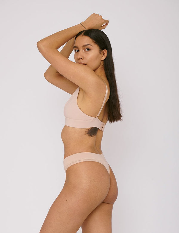 shop ethical sustainable & ethical clothing by ORGANIC BASICS Thong 2-pack