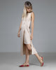 shop ethical sustainable & ethical clothing by INDECISIVE THE LABEL Organic Bamboo Sophia Dress Nude