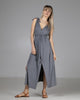 shop ethical sustainable & ethical clothing by INDECISIVE THE LABEL Organic Bamboo Vicky Dress Grey